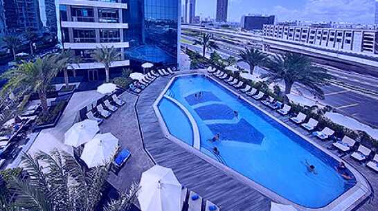 Swimming Pool in Atana Hotel Dubai