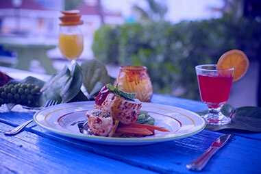 Beach Grill in Breezes Resort and Spa