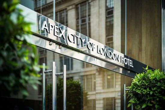 Best hotels near the City of London