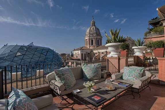 Best pricing and highest ratting hotels near the Rome in Italy where to stay in Grand-Hotel-Plaza