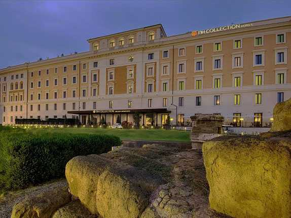 Best pricing and highest ratting hotels near the Rome in Italy where to stay in NH Collection Palazzo Cinquecento