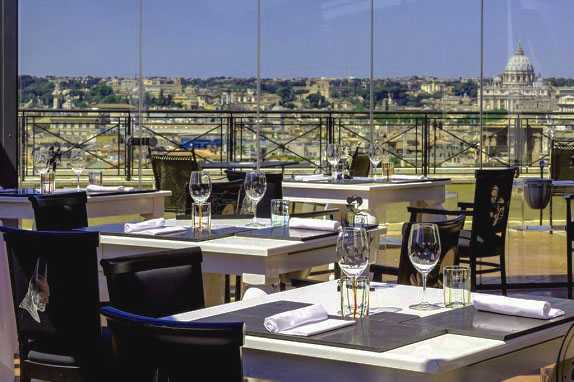 Best pricing and highest ratting hotels near the Rome in Italy where to stay in Sina Bernini Bristol