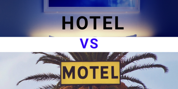 Difference between hotels & motels